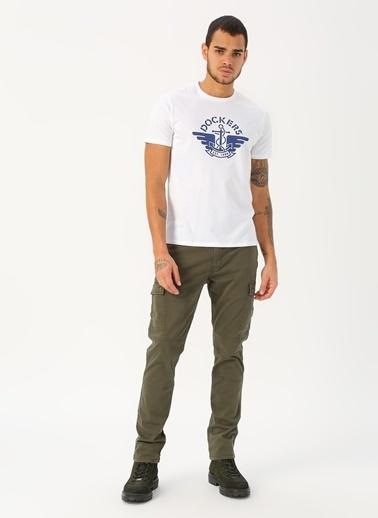 Dockers Dockers Logo Tee T-Shirt Beyaz